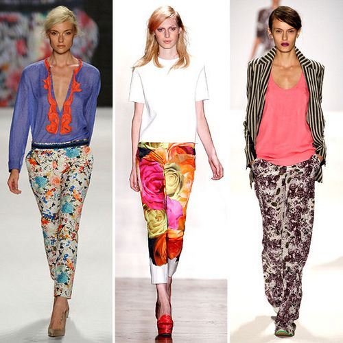 obsessed with this floral pant trend!