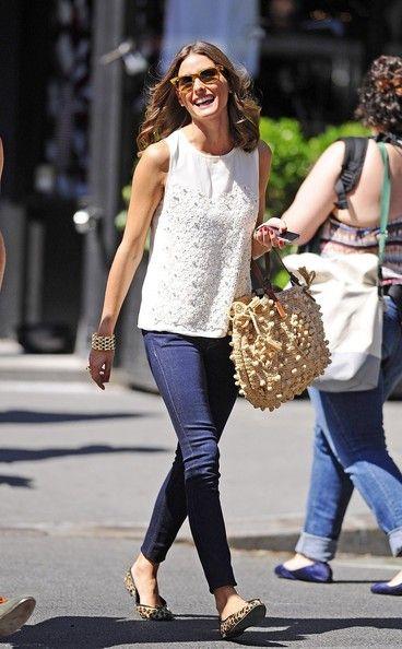 Oh, Olivia...always looking fabulous!