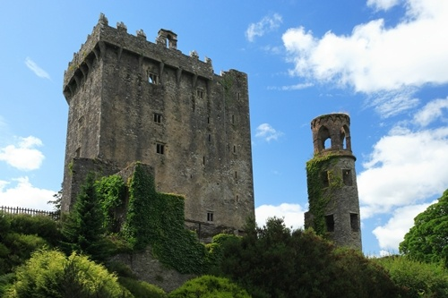go kiss the Blarney Stone in Ireland :)