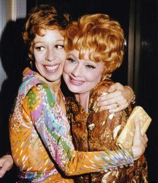 Lucille Ball And Carol Burnett......my two favorite women ever