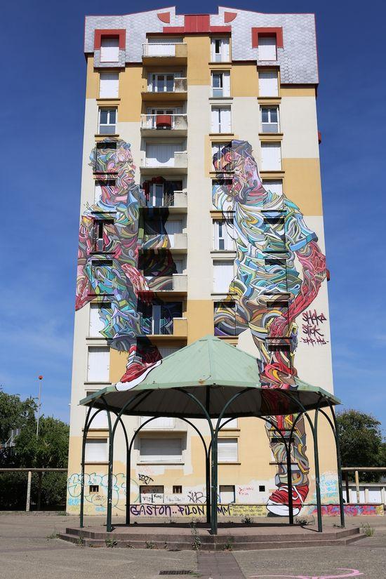 Amazing Street Art,Melun, France