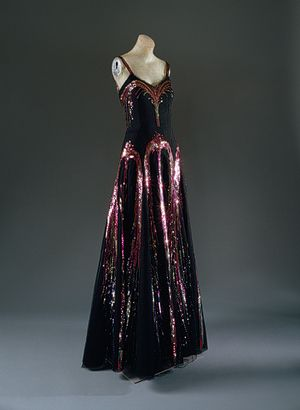 1930s Chanel gown