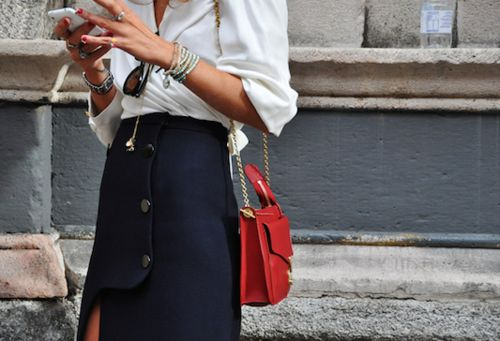 pop of #color! #streetstyle #fashion