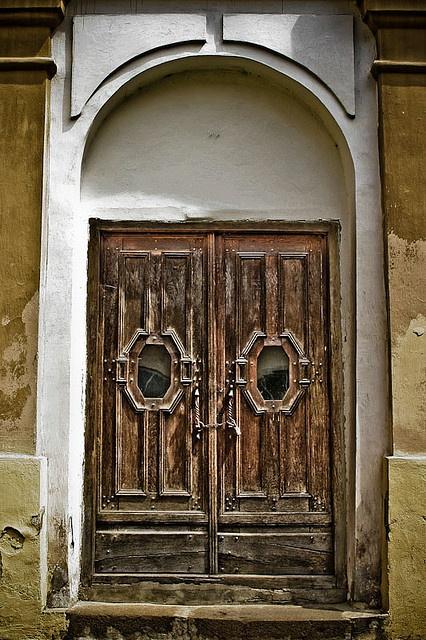 old #door