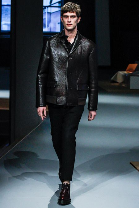 .Prada fall 2013 mens fashion #prada #milanfashionweek
