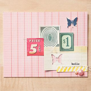 Hello Card by maggie holmes at @Studio_Calico September Kits