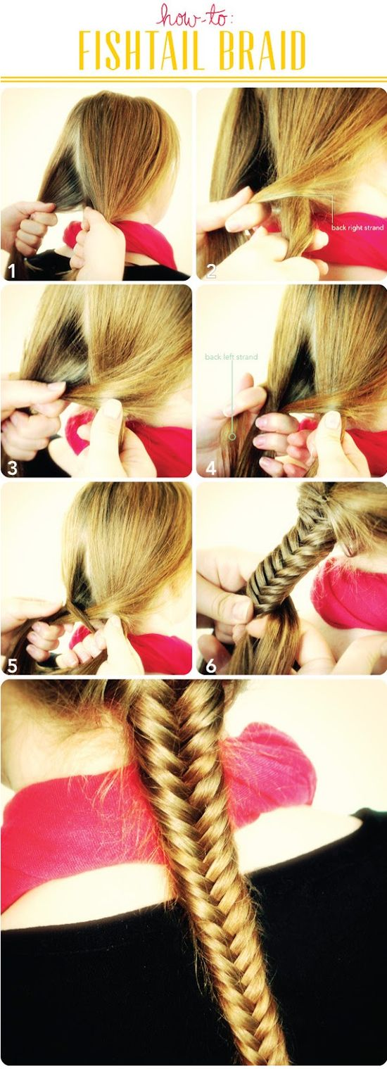 Fishtail Braid Tutorial How To