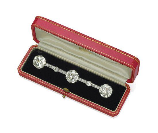 Diamond Cartier Brooch