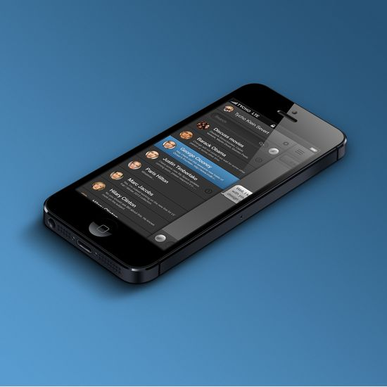 Messenger UI Design