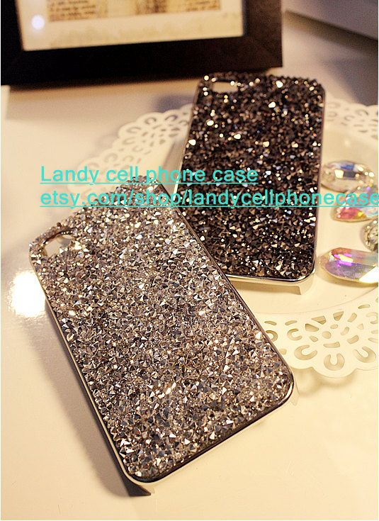 Popular rhinestone iphone 5s case iphone 5c case by landystyle