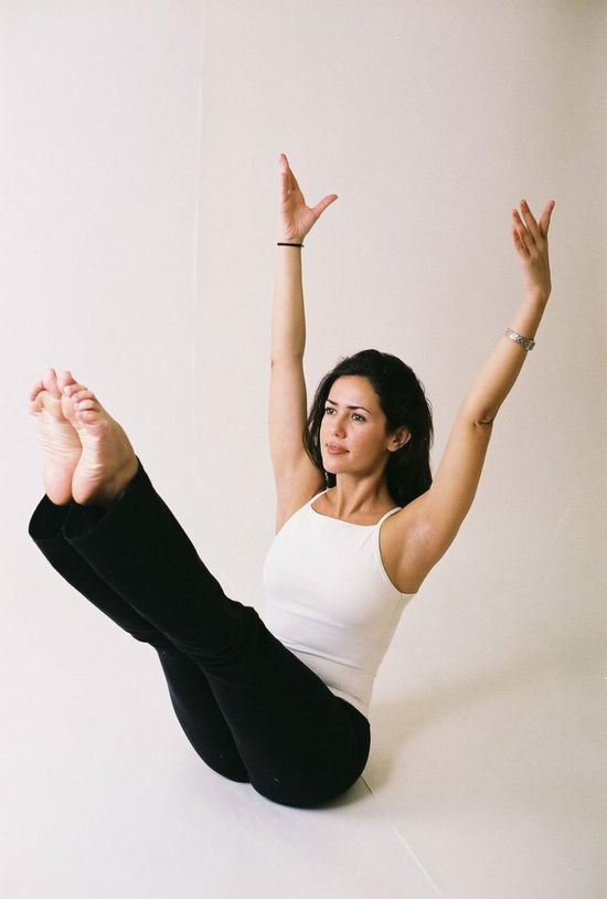 I need to start focusing on my middle, so I'll be starting Pilates again (a wonderful way to strengthen your core)