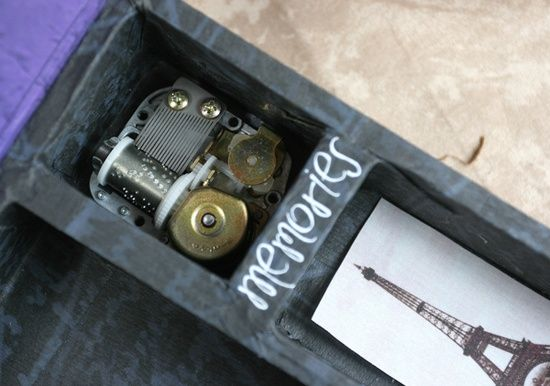 Handmade music box - Retreat