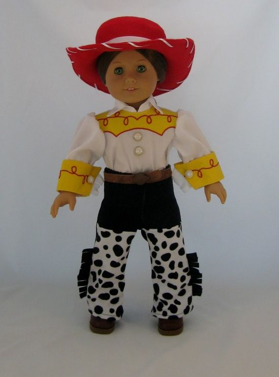 """Jesse Cowgirl Costume for 18"""" dolls $43.00"""