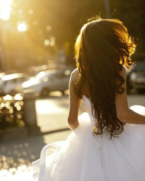 Sunlight in her hair