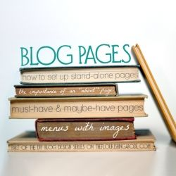 DIY design tips on blog pages from a graphic designer: the must-haves and the panache