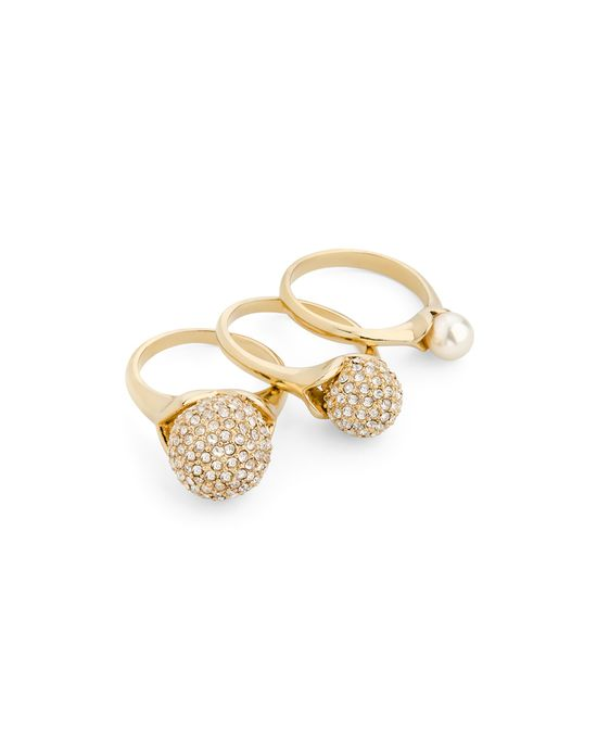 Pave Pearl Rings