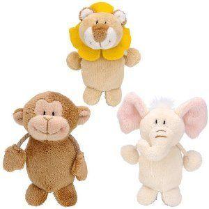 FAO Schwarz Baby Animal Finger Puppets $2.10 #topseller