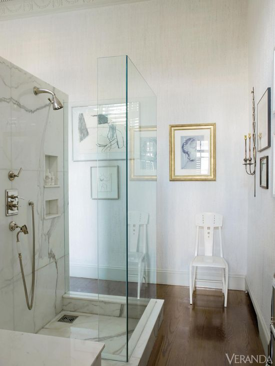 glass bathroom enclosure