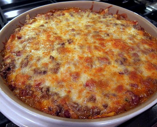 Mexican Casserole-like King Ranch Chicken but with beef.