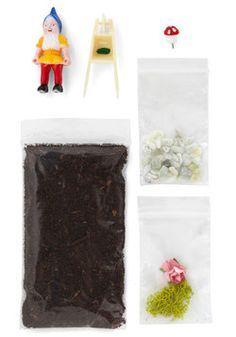 Garden gnome meet terrarium gnome! #diy #gift