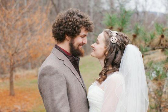 Rustic Groom & Bride