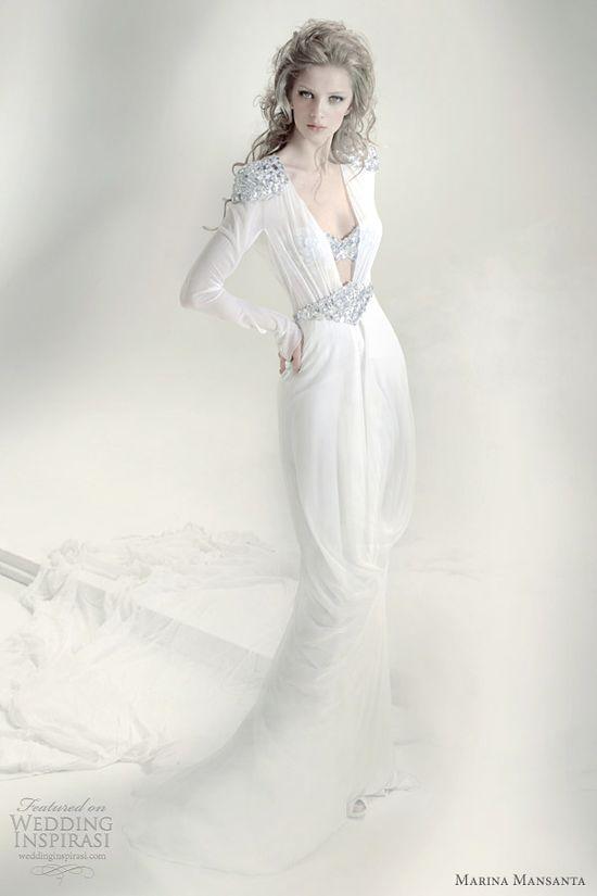 marina mansanta alie wedding dress
