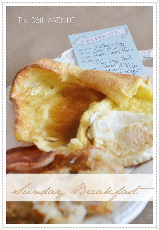German Pancakes Recipe. So darn good! #recipes #breakfast the36thavenue.com
