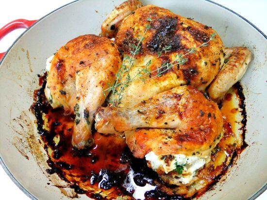 Ricotta Stuffed Chicken.