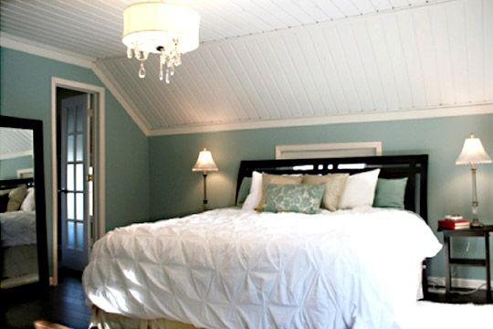 painting wood paneling (makeover)