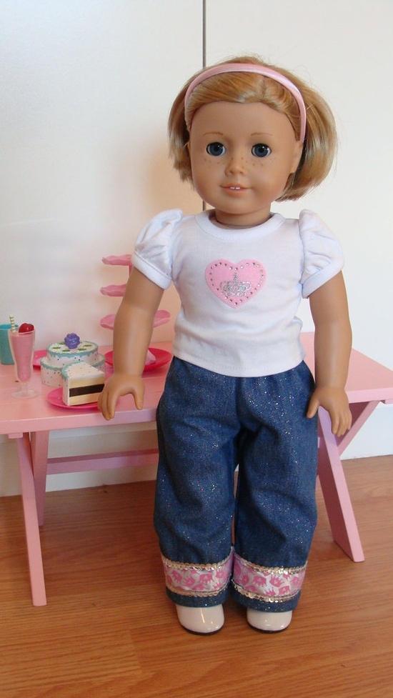 American Girl Doll 18 inch White Princess Crowns by SweetPeaKidz, $22.00
