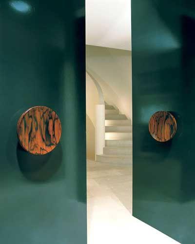 // Turquoise Doors