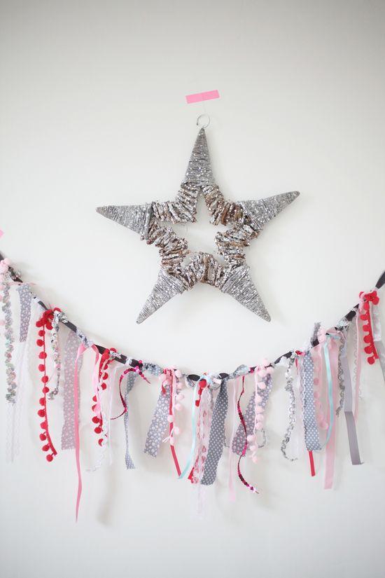 Festive Garland  Christmas crafts