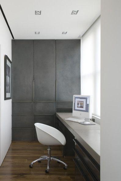 gray & white #Desk Layout