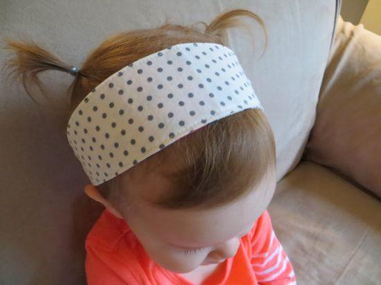Adorable Baby Girl Headband!- by Shared Joy on Etsy