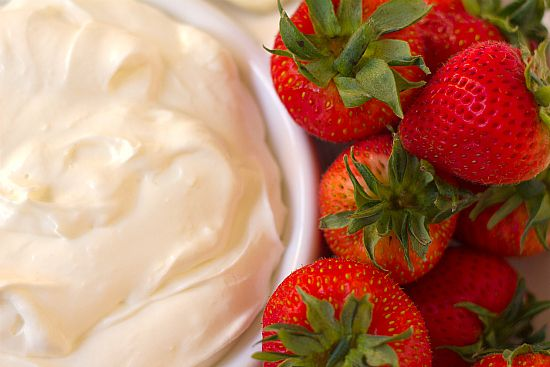 fruit dip (cream cheese/marshmallow creme)