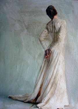 """Saatchi Online Artist William Oxer; Painting, """" The Acceptance"""" #art #WilliamOxer"""