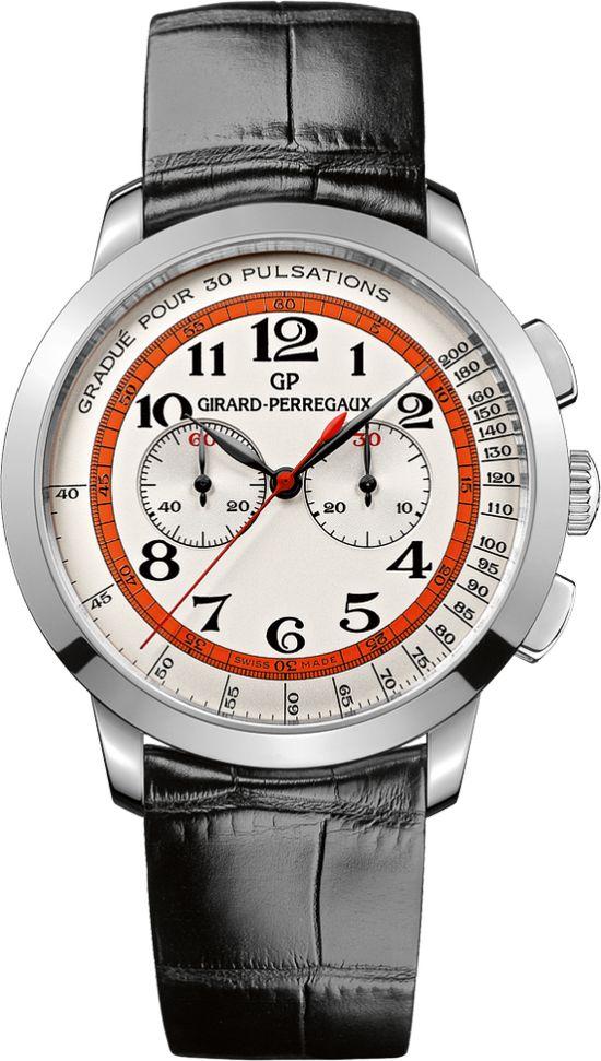 "Girard-Perregaux 1966 Chronograph ""Doctor's Watch"" for Dubail #men #watches"