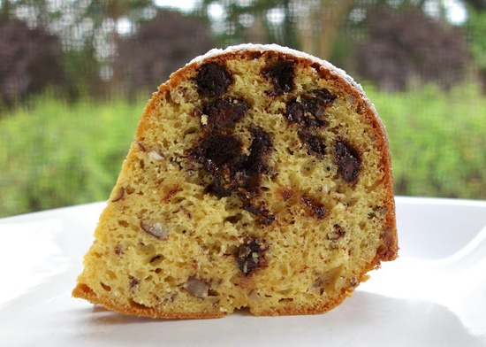 Chocolate Chip Cookie Pound Cake