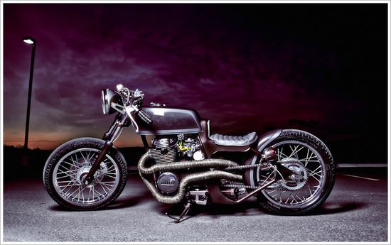 1976 Yamaha XS360 - Bombshell Customs - Pipeburn - Purveyors of Classic Motorcycles, Cafe Racers & Custom motorbikes