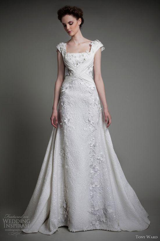 tony ward bridal 2013 petales wedding dress