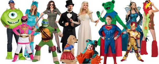 Top 10 Halloween Costumes for inspiration! www.halloweenexpr...