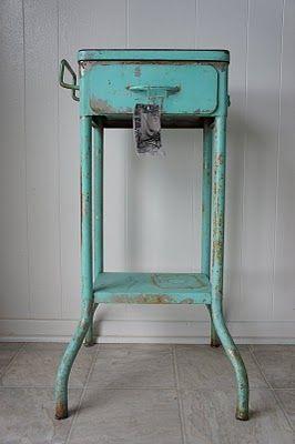 Vintage Dentist's Table.
