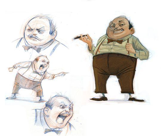 Character Design by Dean Stuart, via Behance