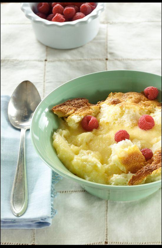 Lemon Pudding Cake from Relish Magazine