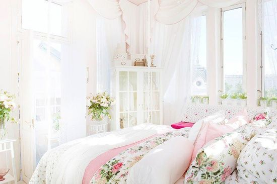 ? Gorgeous shabby chic bedroom - ideasforho.me/... -  #home decor #design #home decor ideas #living room #bedroom #kitchen #bathroom #interior ideas