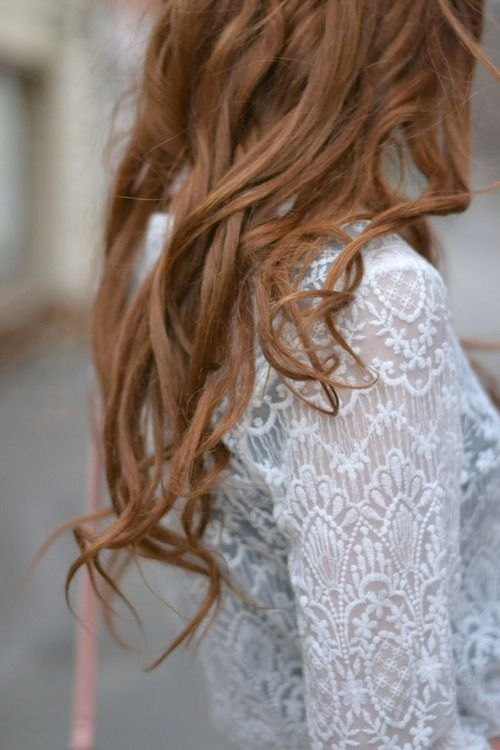 Subtle waves and curls