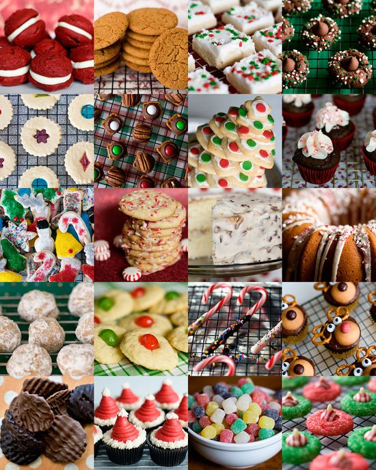 20 Christmas cookies (& a couple of cakes) all in one spot. It's a recipe round-up!