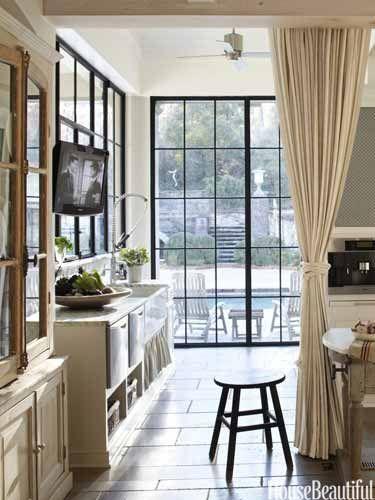 Hang an Interior Curtain