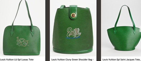 LV green collection
