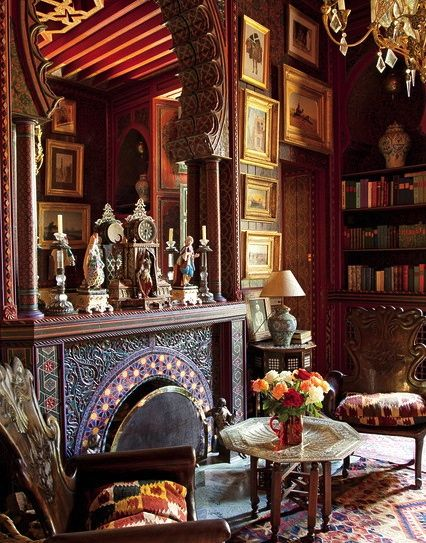 The Library, Villa Oasis, YSL